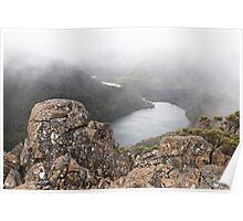 Misty Lake  Seal Poster