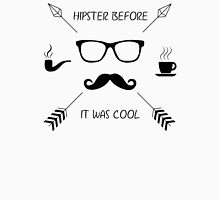 Hipster Before it Was Cool Men's Baseball ¾ T-Shirt