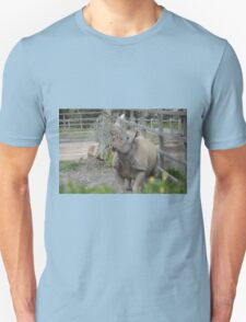 Black Rhinoceros. Unisex T-Shirt