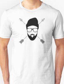 Hipster Emblem Unisex T-Shirt