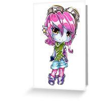 Chibi Riot Girl Tristana Greeting Card