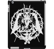 Samael (White) iPad Case/Skin