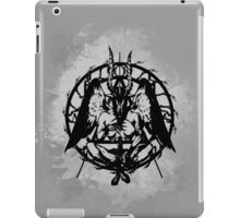 Samael (Black) iPad Case/Skin