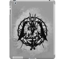 Samael (Black) iPad Case/Skin