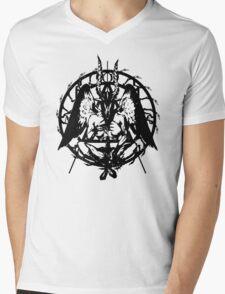 Samael (Black) Mens V-Neck T-Shirt
