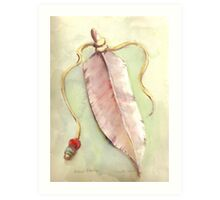 Ritual Feather Art Print