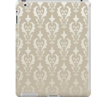 Damask vintage pattern. Gold background iPad Case/Skin