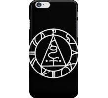 The Seal of Metatron (White) iPhone Case/Skin