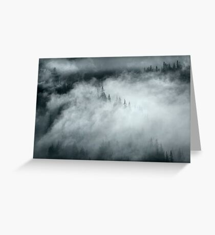Mountain Mystery Greeting Card
