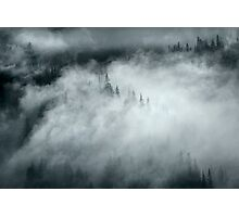 Mountain Mystery Photographic Print