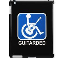 Guitarded Funny Guitar Design iPad Case/Skin