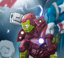 Iron Man by chrisgooding
