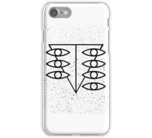 Seele Eyes (Black) iPhone Case/Skin