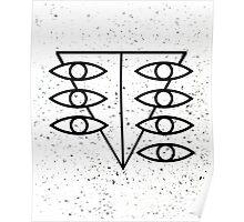 Seele Eyes (Black) Poster