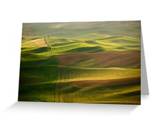Green Ocean Greeting Card