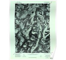 Maine USGS Historical Map Twin Peaks 807246 1977 24000 Poster