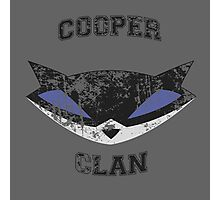 Cooper Clan distressed (Sly Cooper) Photographic Print