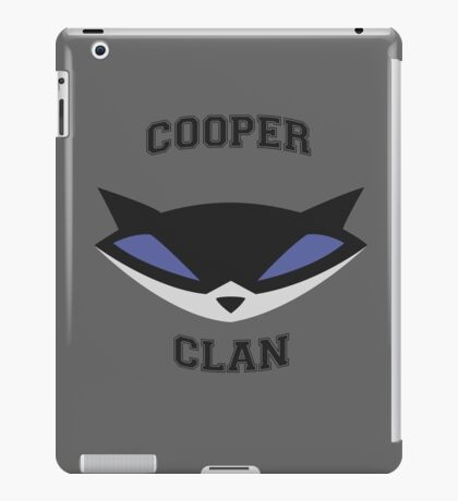 Cooper Clan (Sly Cooper) iPad Case/Skin