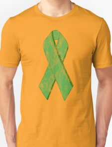 green ribbon Unisex T-Shirt