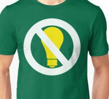 no bright idea Unisex T-Shirt