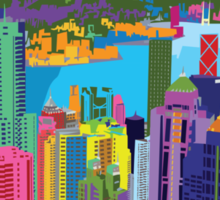 Pop Art of Hong Kong Sticker