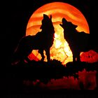 Wolves n Red Moon (12958) by redhawk
