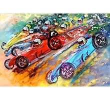 Formula 1 Madness Photographic Print