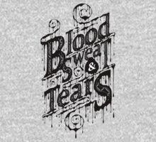 Blood, Sweat, & Tears One Piece - Short Sleeve