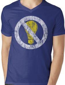no incandescent bulbs Mens V-Neck T-Shirt