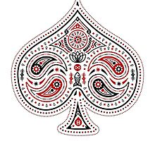 Spades (Red & Black) by 83Drops