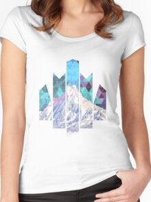 Himalayas Women's Fitted Scoop T-Shirt
