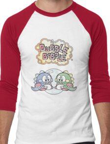 Two Little Dragons Men's Baseball ¾ T-Shirt
