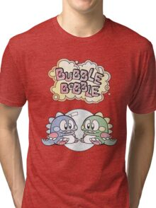 Two Little Dragons Tri-blend T-Shirt