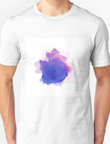 Abstract watercolor art hand paint on white background T-Shirt