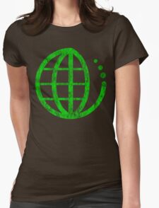 ecoecho : green earth Womens Fitted T-Shirt