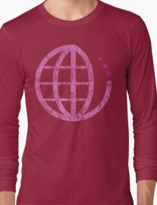 ecoecho : mother earth Long Sleeve T-Shirt