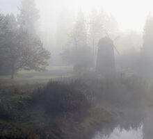 Foggy Morning by Olga Zvereva