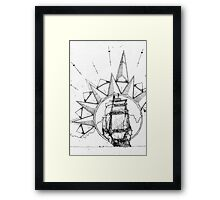 Shipped Framed Print