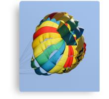 parachute Canvas Print