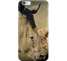 Rhino iPhone Case/Skin