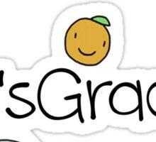 It's Grace Sticker