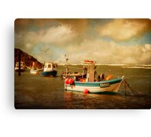 Bude Boats Canvas Print