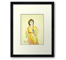 *Goody Two-Shoes* as The Tooth Fairy aunt-lois Framed Print