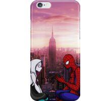 Spider-Gwen & Spider-Man iPhone Case/Skin