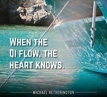 Qi Flows by Zenology Arts