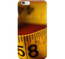 Measures iPhone Case/Skin