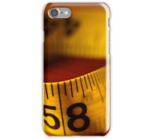 Measures iPhone Case/Skin