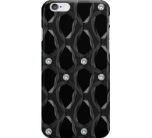 Black background with gemstones iPhone Case/Skin
