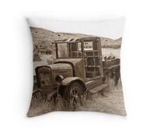 International Harvester Pickup - Bannack, MT Throw Pillow