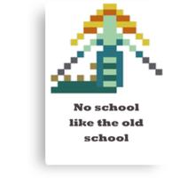 Naga Siren - No school like the old shool Canvas Print